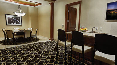 Director Suite Dining Area