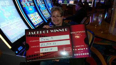 Hollywood Casino Jackpot Winner
