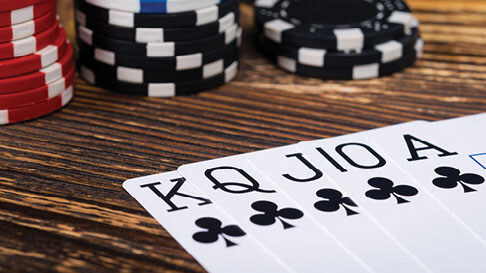 Poker Derivative Games