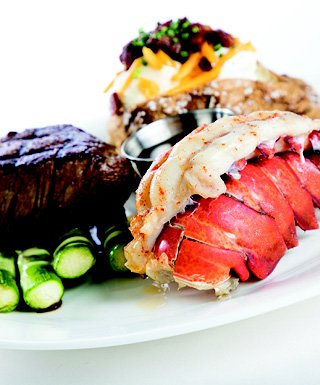Dining at Hollywood Casino St. Louis - Final Cut Steakhouse - Steak, Lobster, Baked Potato