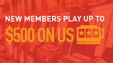 Play Up To $500 On Us