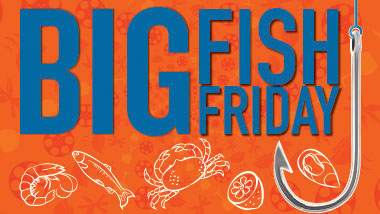 Logo for Big Fish Friday